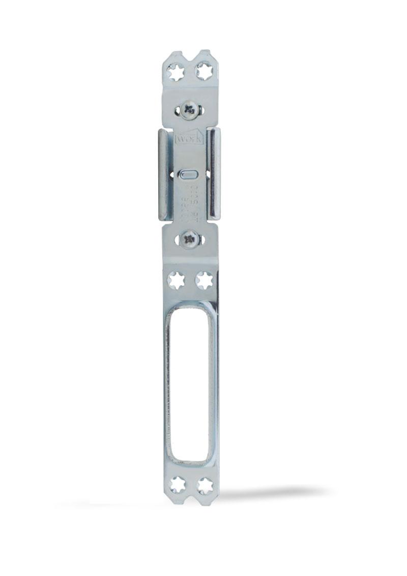 PVC Ayarlı Çelik Kilit Karşılığı ( Uzun ) PVC-K-002