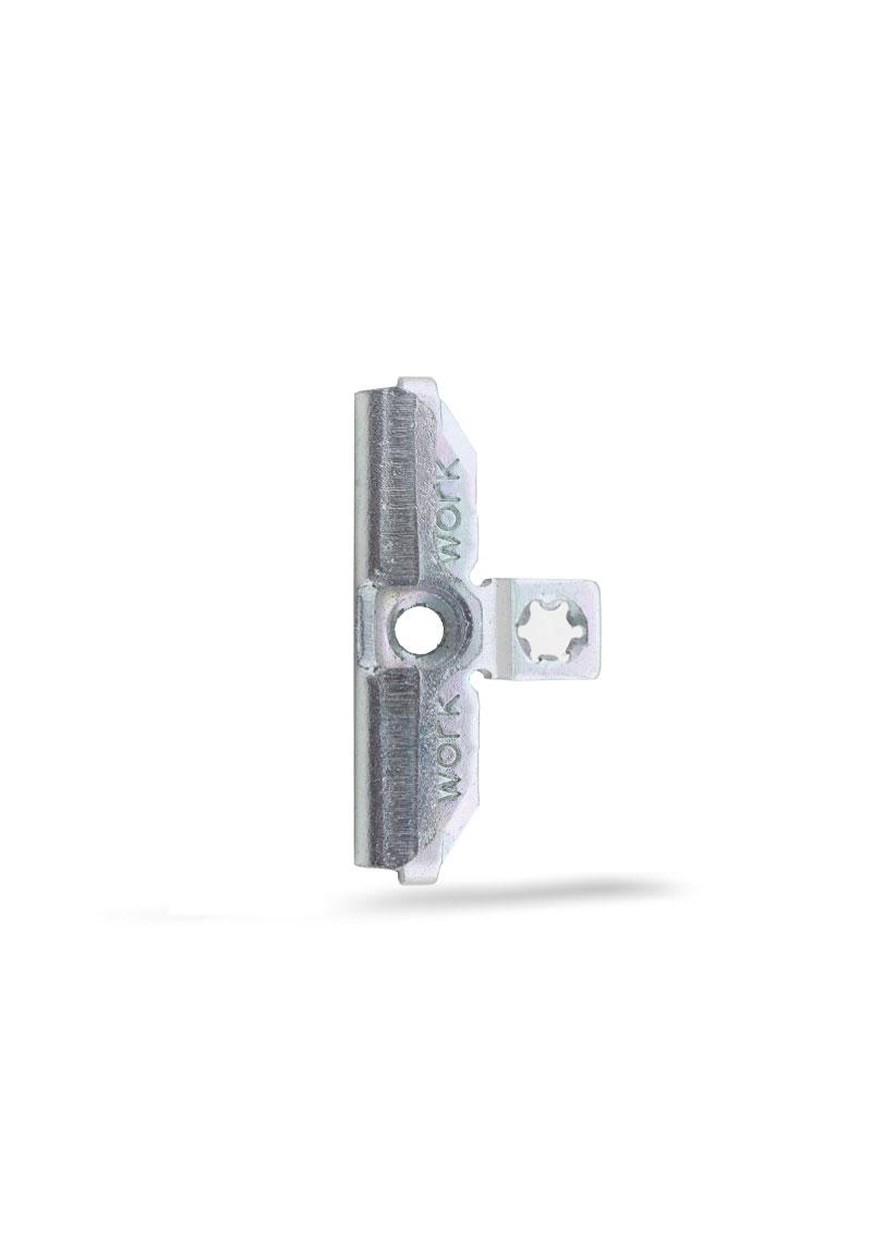 Çelik İspanyolet Karşılığı ( 13 AKS Çift Delik ) PVC - K - 004