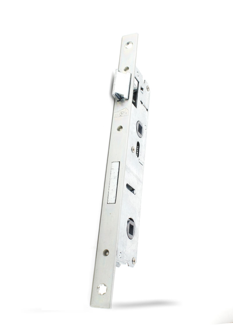 25- 90 mm Eksen PVC Banyo ve WC Kilidi ( Metal )