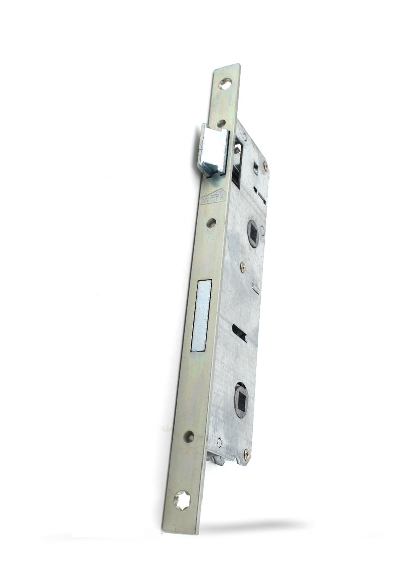 35 - 90 mm Eksen PVC Banyo ve WC Kilidi ( Metal )