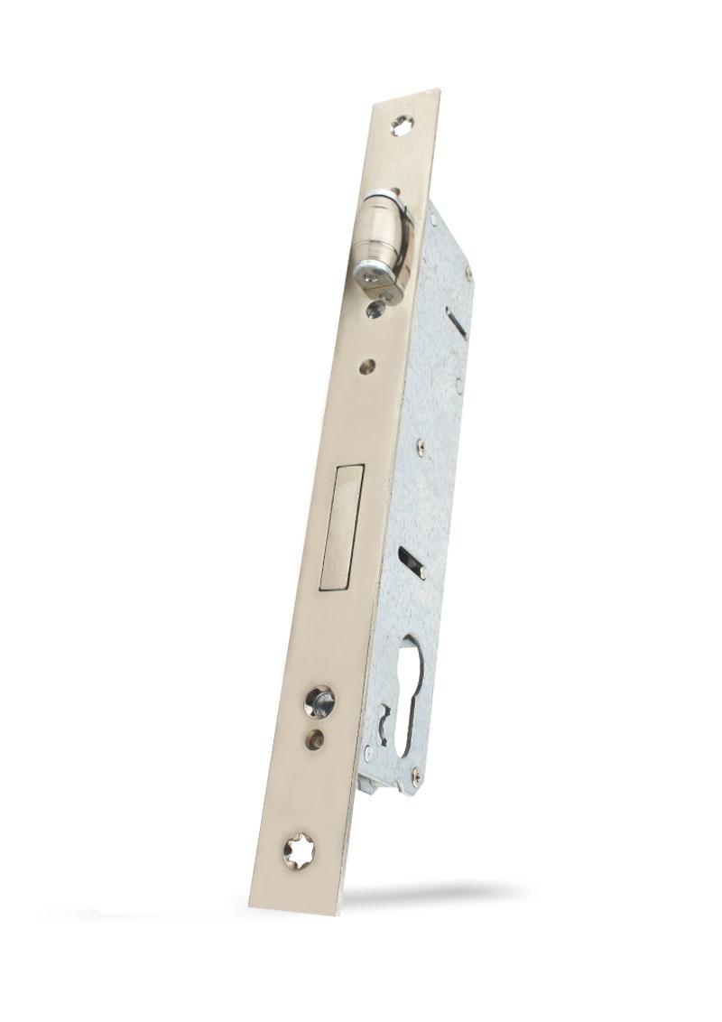 35 mm Eksen Alüminyum Makaralı Kilidi Silindirli Krom